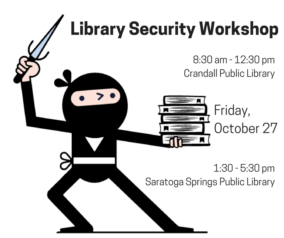 Library security, professional development