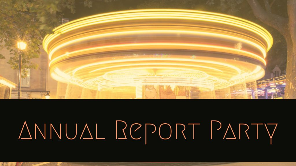 Annual Report Party