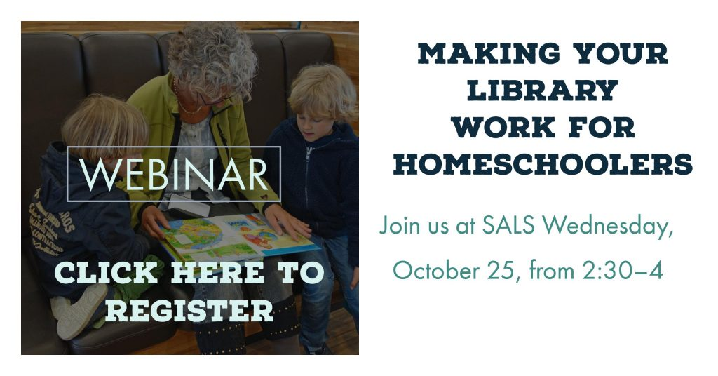 Make your library work for homeschoolers